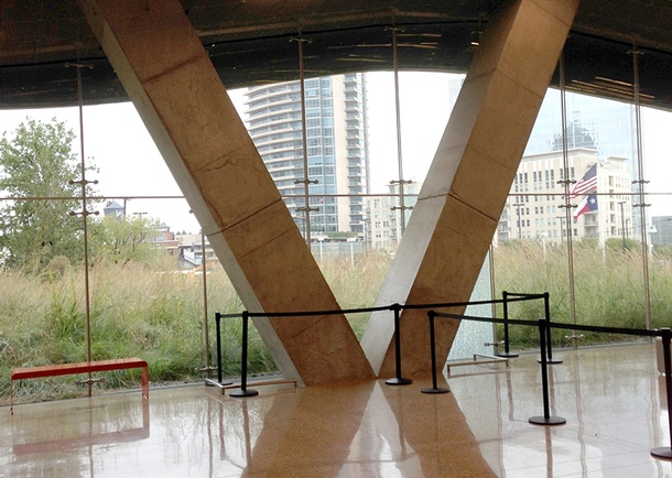 Interior view showing polished concrete &