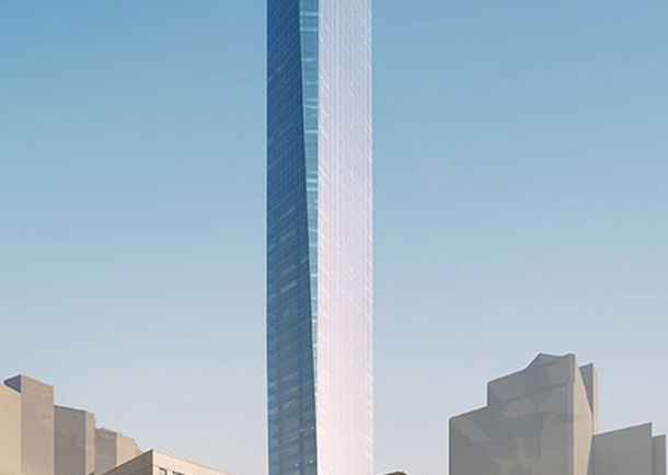 Architectural rendering of East 22nd Street. Photo courtesy of KPF, New York, NY