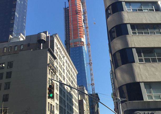 Topping Out. Photo courtesy of DeSimone Consulting Engineers, New York, NY