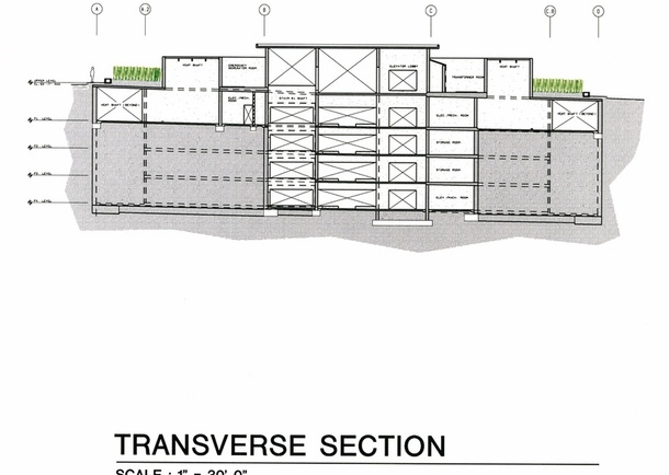 Transverse Section. Illustration: Watry Design, Inc.
